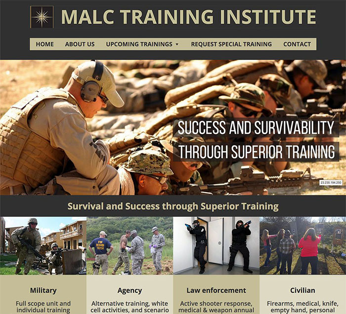 MALC Training Homepage