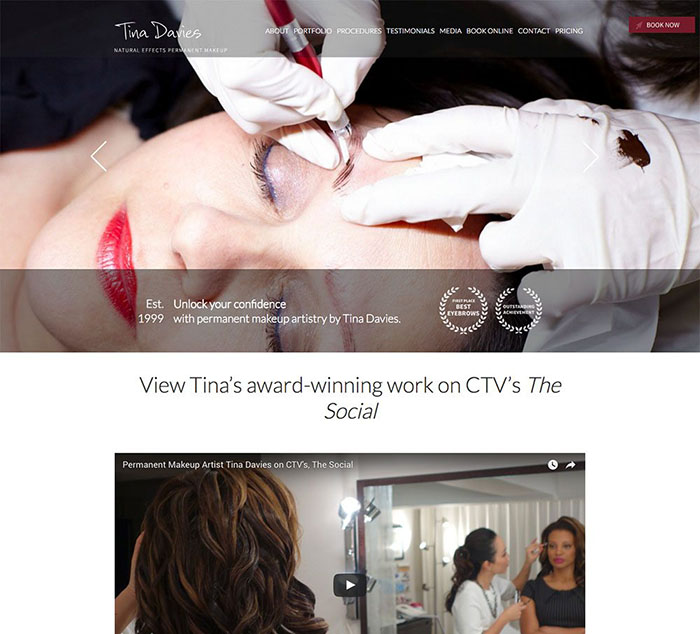 Toronto Makeup Homepage