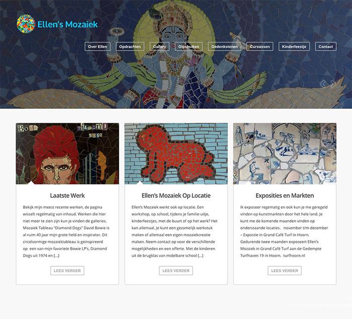 Ellens Mozaiek Homepage