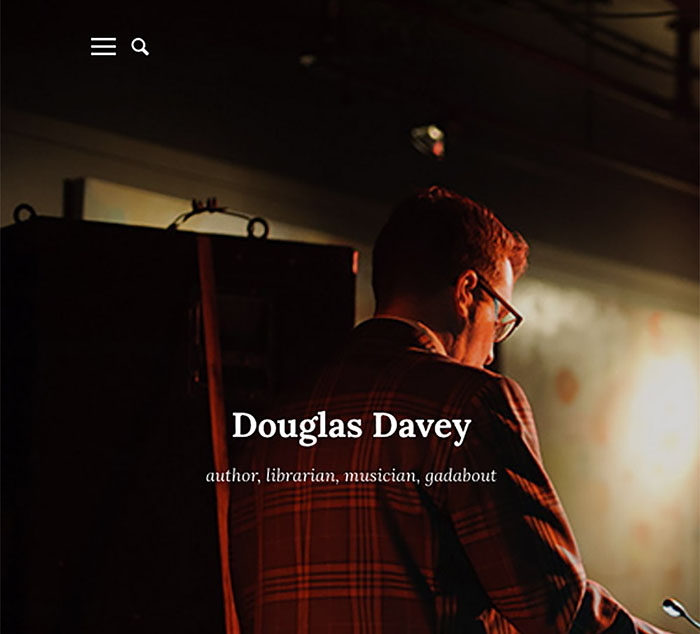 Douglas Davey Website