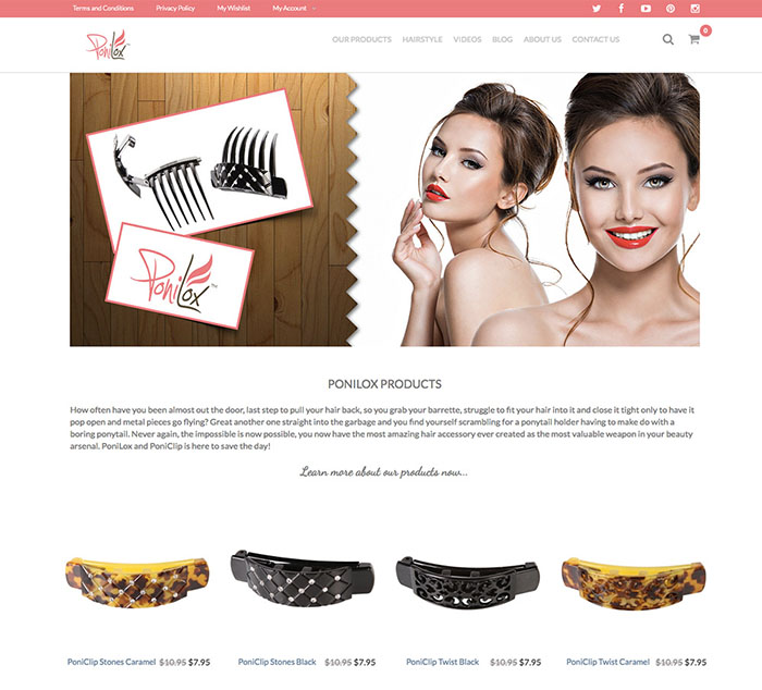 Ponilox Homepage