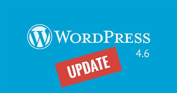wordpress update 4.6