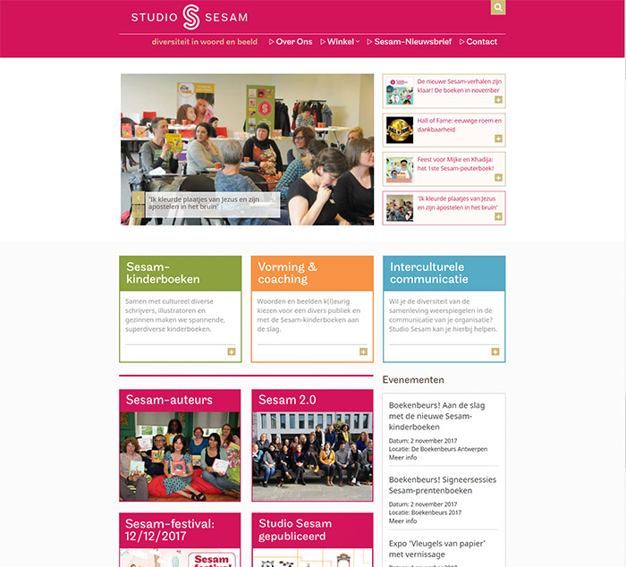 studio sesam website